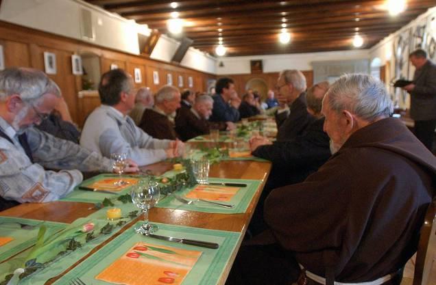 Im März 2003 nahmen die Kapuziner Abschied vom Kloter Solothurn