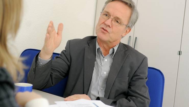 Reusspark-Direktor Thomas Peterhans.