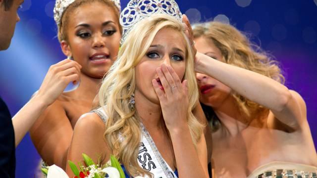 Berühmtes Erpressungs-Opfer: Miss Teen USA Cassidy Wolf (Archiv)