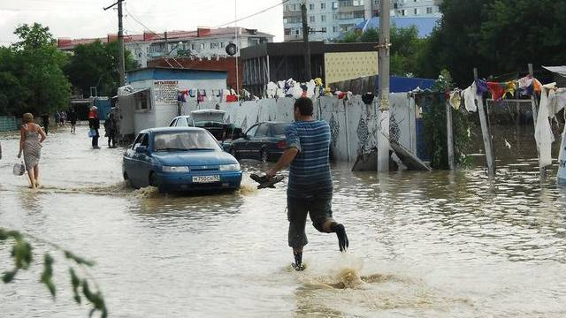 Die Überschwemmungen haben die Region Krasnodar schwer getroffen