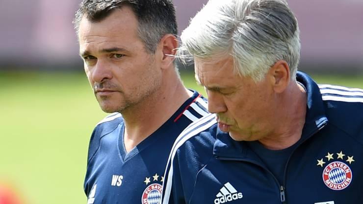 Tritt nach Carlo Ancelottis Entlassung in den Vordergrund als temporärer Trainer von Bayern München: Willy Sagnol