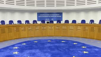 Die Grosse Kammer des EGMR in Strassburg. Der Gerichtshof hat im Fall eines Sudanesen gegen die Schweiz entschieden.