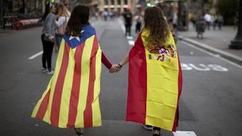 Die Zentralregierung in Madrid bereitet die formelle Übernahme der Macht in der Region Katalonien vor. (Symbolbild)
