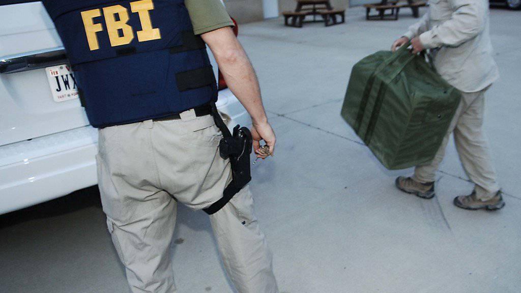 FBI-Agenten hatten bei verdeckten Ermittlungen Kontakt mit dem mutmasslichen Attentäter aufgenommen. (Symbolbild)
