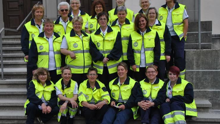 Unser aktiver Samariterverein im Mai 2016