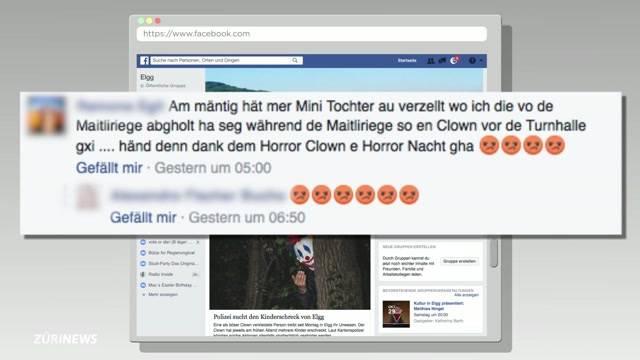 Horror-Clowns erreichen Zürich