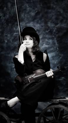 Die Geigerin geht ihren ureigenen musikalischen Weg.