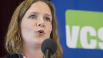 Die neue VCS-Präsidentin Evi Allemann