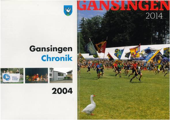 Stark modernisiert: «Gansingen» 2004 und 2014.