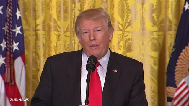 Denkwürdige Trump-Show  Trump-Show