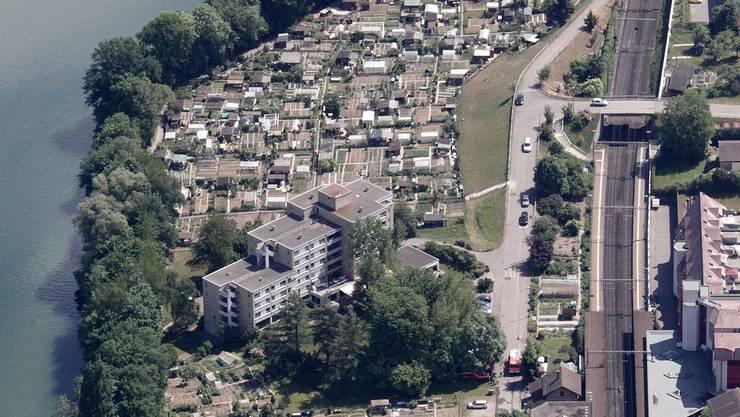 Mit hochwertigem Wohnraum, wie anstelle der Schrebergärten geplant, sollen gute Steuerzahler für dieGemeinde Neuenhof gewonnen werden.AZ ARCHIV/ZVG