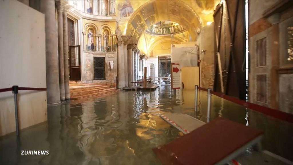 Schlimmstes Hochwasser in Venedig seit 50 Jahren