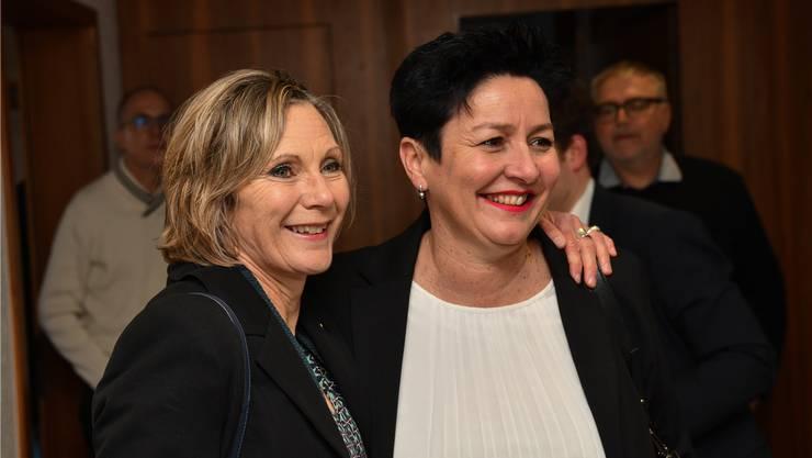Maya Graf (l.) über Daniela Schneeberger: «Wir sind zwei sehr unterschiedliche Persönlichkeiten.»