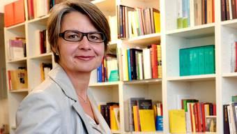 Martina Bernasconi in ihrer Denkpraxis: «Werde ich gewählt, müsste ich diese aufgeben.»Kenneth Nars
