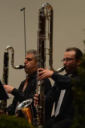 Die Kontrabassklarinette hat einen vier Meter langen Klangkörper