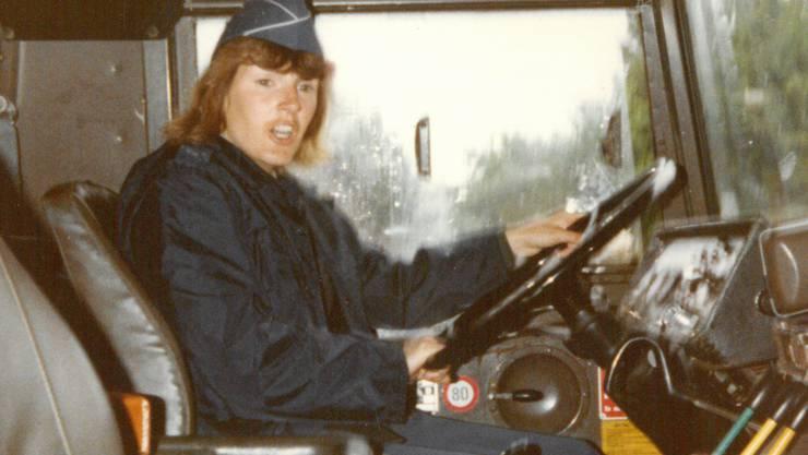 Madeleine Rauch leistete Militärdienst als Sanitätsfahrerin.