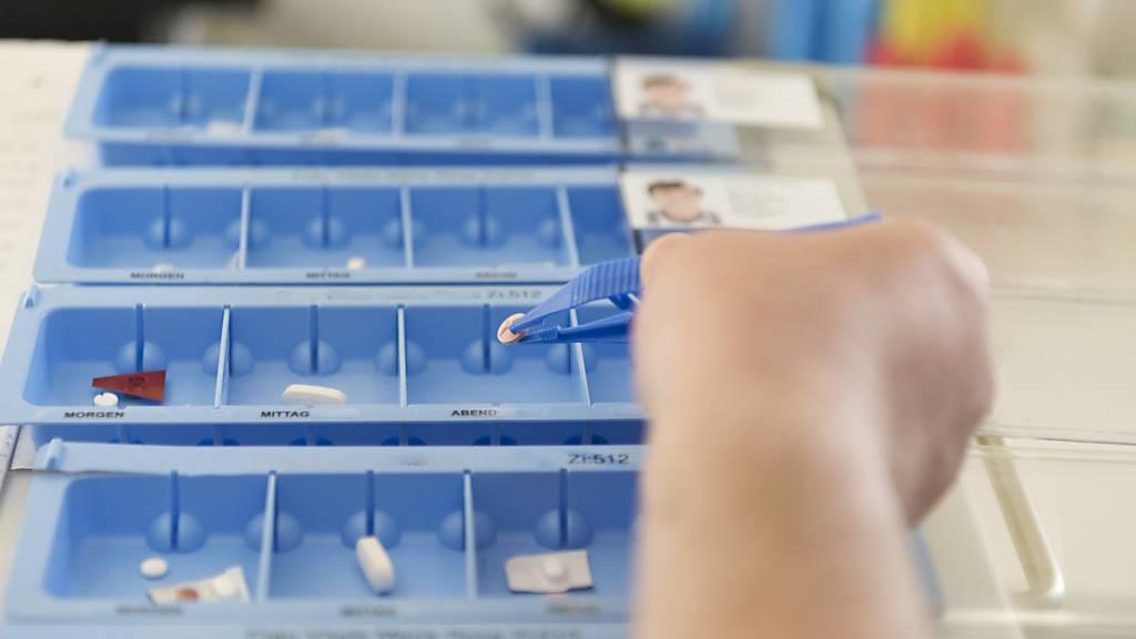 Weniger Medikamente bewirken keine gesundheitliche Verschlechterung