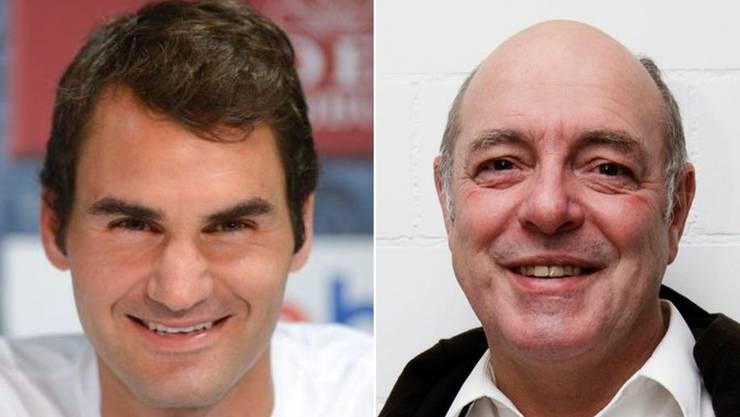 Satire zur doppelstöckigen Autobahn. Was wohl Roger Federer dazu sagen würde?