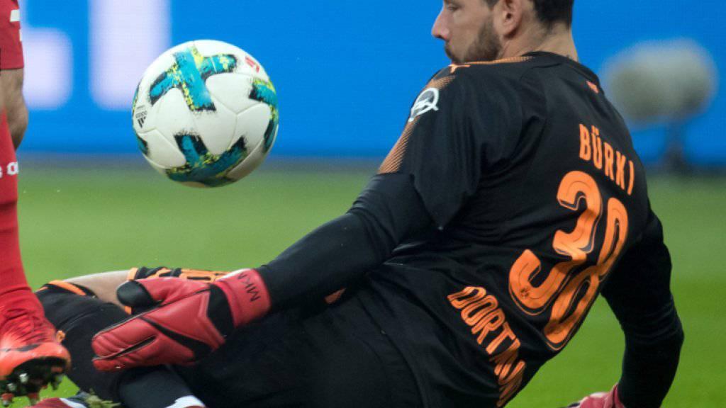 Für Dortmunds Goalie Roman Bürki gab es in letzter Zeit viel zu halten
