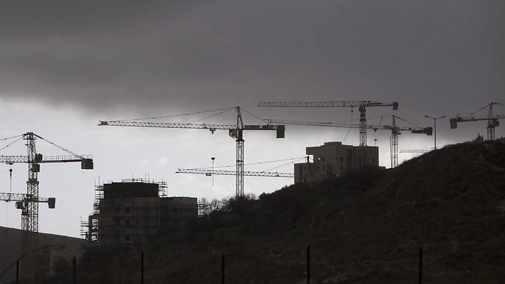 Grünes Licht für umstrittenen Siedlungsneubau in Ost-Jerusalem