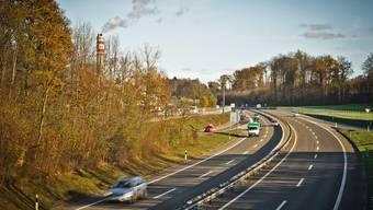 Die T5 zwischen Aarau und Hunzenschwil: Hier war am Montag ein Falschfahrer unterwegs.