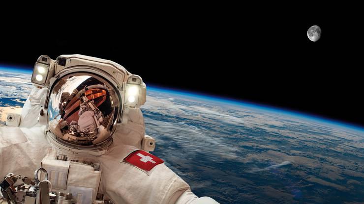 Die Schweiz im Weltraum.