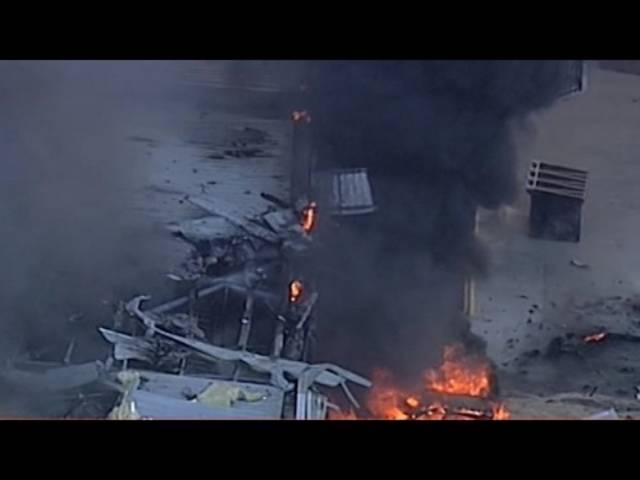 So berichtete der neuseeländische Nachrichtensender Sky News über den Flugzeugabsturz in Melbourne