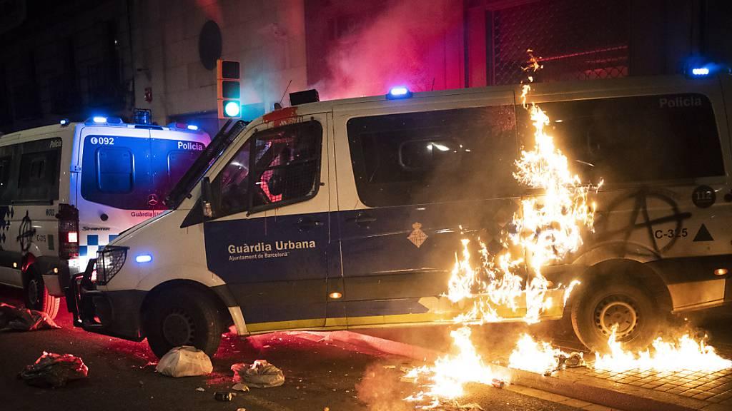 Sánchez verurteilt neue Krawall-Nacht in Spanien: «Inakzeptabel»