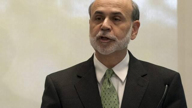 Fed-Chef Ben Bernanke schraubt nicht am Leitzins (Archiv)