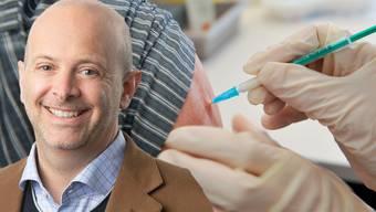 Er leitet den Basler Europahauptsitz des US-Impfstoffentwicklers Moderna: Der Kanadier Nicolas Chornet.