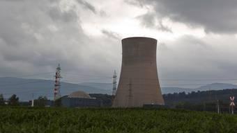 Das Atomkraftwerk Gösgen ist seit dem Wochenende vom Netz. Derzeit speist keines der fünf Schweizer AKW Strom ins Netz ein. Keystone