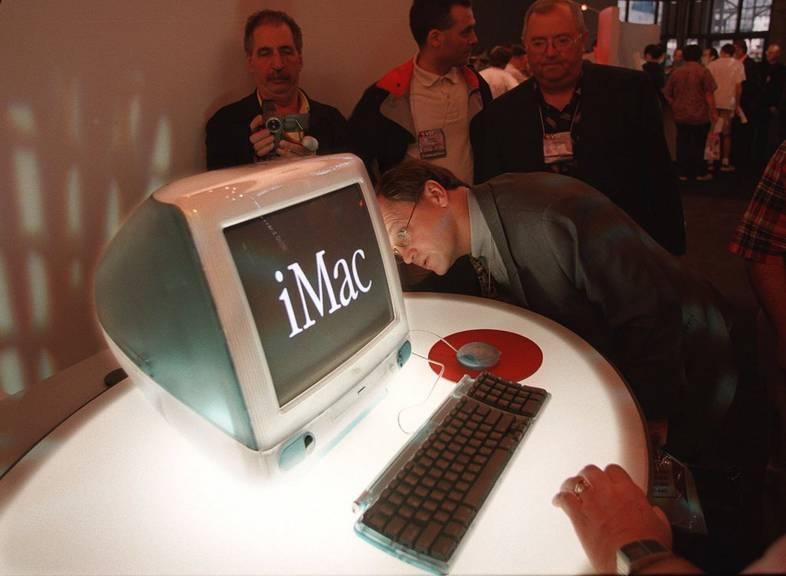 So sah 1998 die Zukunft aus. (Keystone/AP Photo/Stuart Ramson)