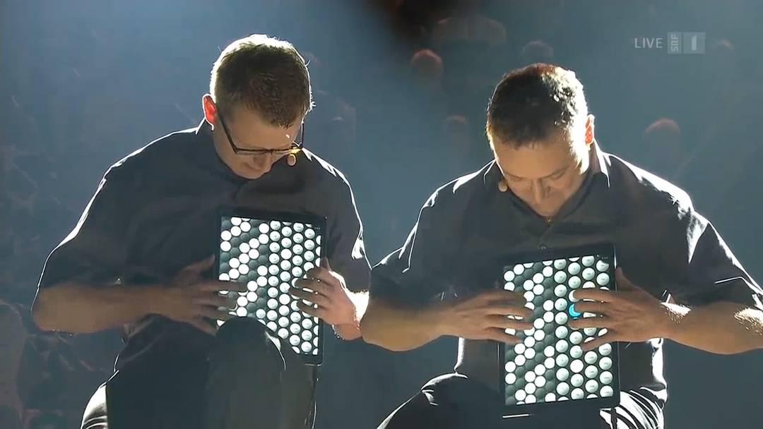 «I de Bächi»: Das «Quartett Waschächt» beweist, dass Ländlermusik auch digital geht.