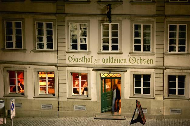 Gasthof zum Goldenen Ochsen in Zofingen