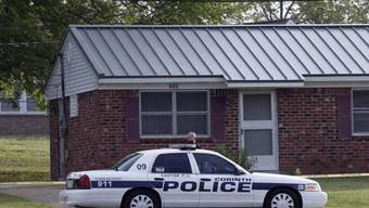 Festnahme des Verdächtigen in Corinth in Mississipi