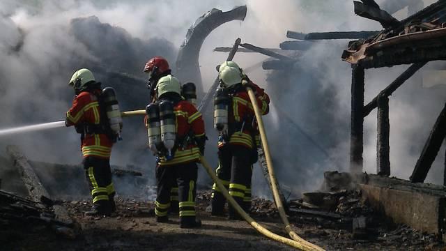 Hofbrand Zeiningen: «Das Problem war vor allem das Wasser»