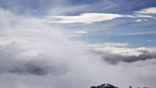 Föhnsturm oberhalb Chur (Symbolbild)