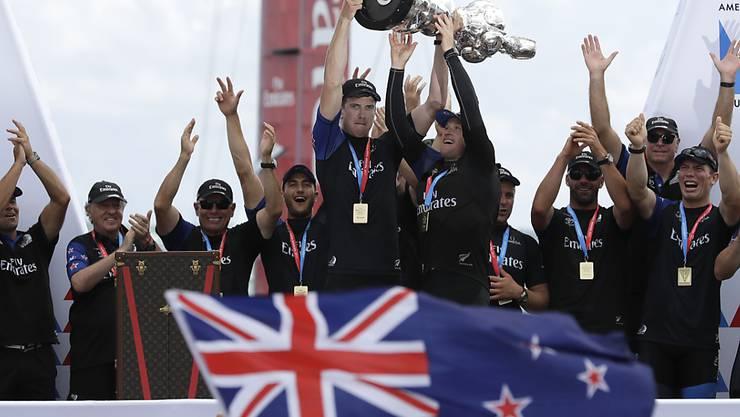 Neuseeland ist Titelverteidiger und segelt wieder 2021 vor Auckland um den America's Cup