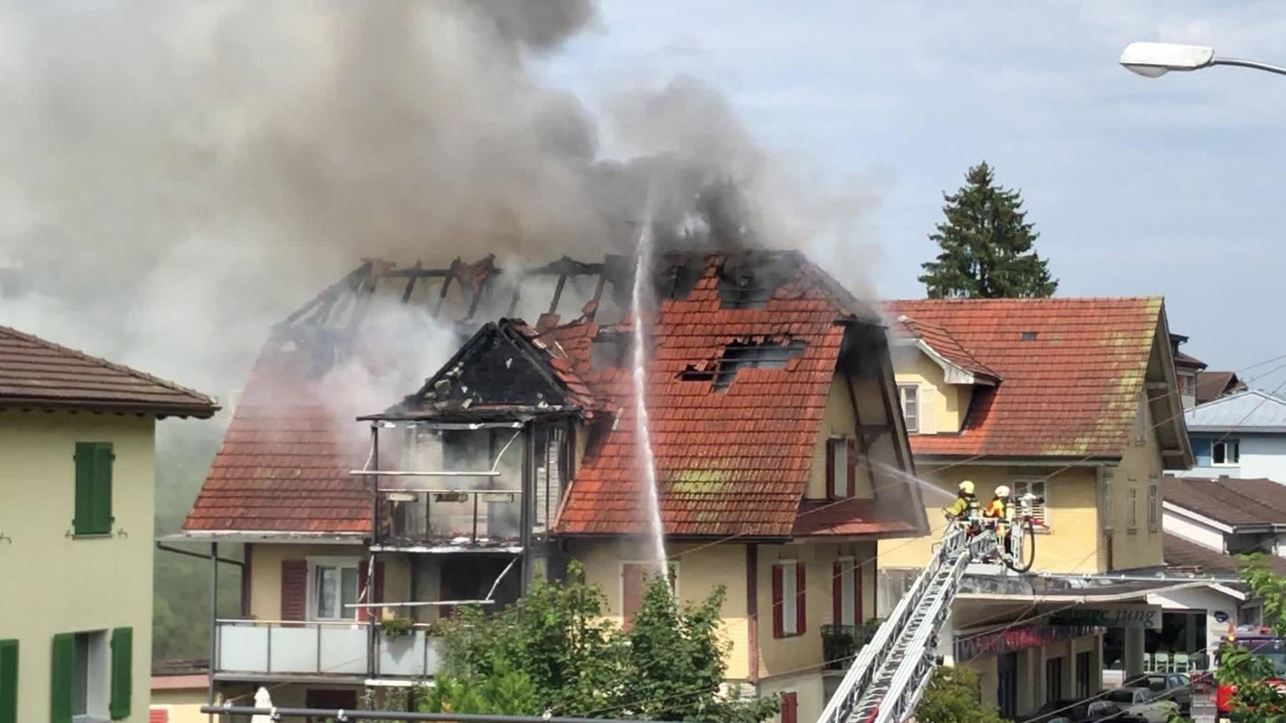 Ursache für Küchenbrand in Ebikon geklärt