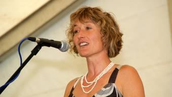 Susanne Hochuli: Sommertenü für eine Regierungsrätin erlaubt. (Sibylle Haltiner)