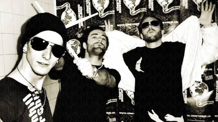 Die Berner Crew Churchhill bringt feinsten Schweizer Rap nach Menziken.