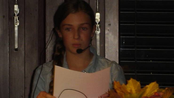 Sara Meier beeindruckte mit ihrer brillanten Präsentation und ihrer reichen Sprache.