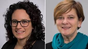 Sheela Süess ist Gemeinderätin in Baldingen, Esther Käser  in Rekingen. Die dritte Frau im Wahlkreis 1 ist Franziska Maag aus Rümikon. Die einzige Frau im Wahlkreis 2 heisst Franzisca Zölly aus Bad Zurzach.