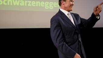 Arnold Schwarzenegger in Genf