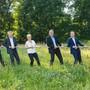 Die sechs Grossratskandidaten und die eine Grossratskandidatin der CVP Zurzibiet.