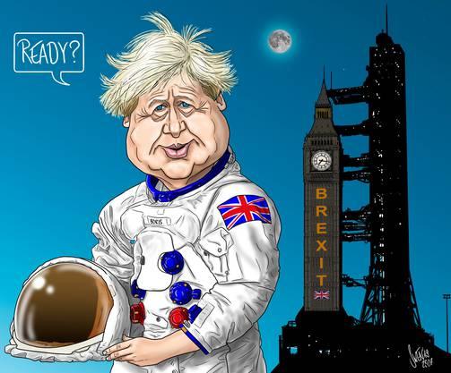 Boris Johnson übernimmt das Brexit-Kommando.
