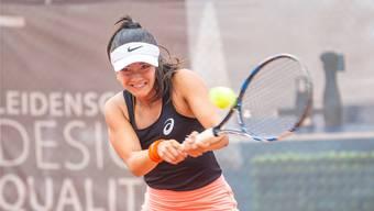 Tamara Arnold verbringt aktuell ihre Semesterferien in der Schweiz und spielt in der Interclub-Meisterschaft mit.