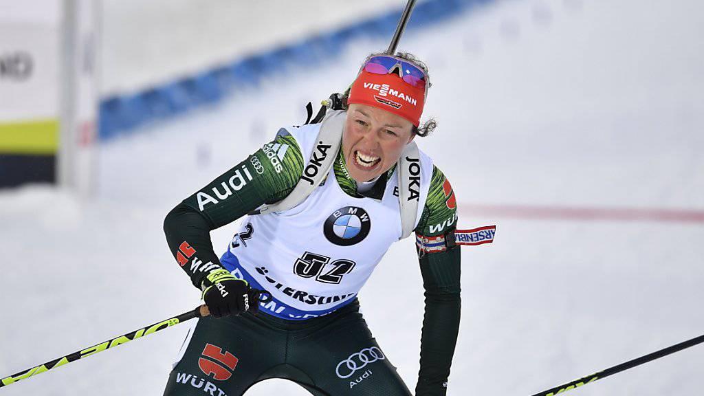 Doppel-Olympiasiegerin Laura Dahlmeier beendet mit nur 25 Jahren ihre Biathlon-Karriere
