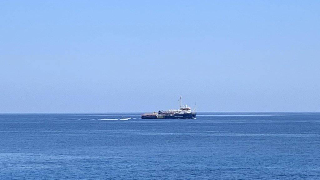 Das Rettungsschiff «Sea-Watch 3» harrte seit Tagen in internationalen Gewässern unweit der Insel Lampedusa aus.