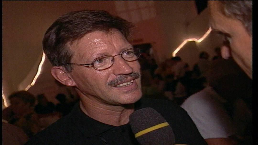 Badenfahrt 1997: Der damalige Stadtammann Josef Bürge verrät, wo es ihm am besten gefällt